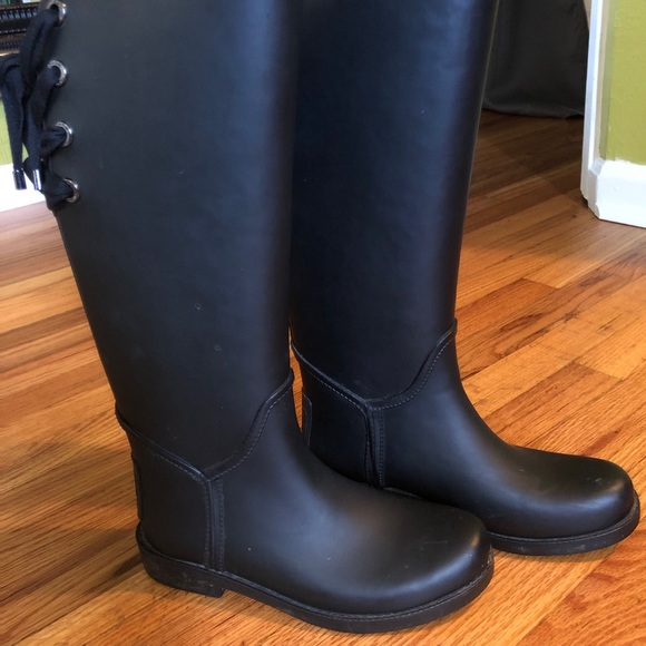 Coach New York Soft-Lined Rain Boots 6